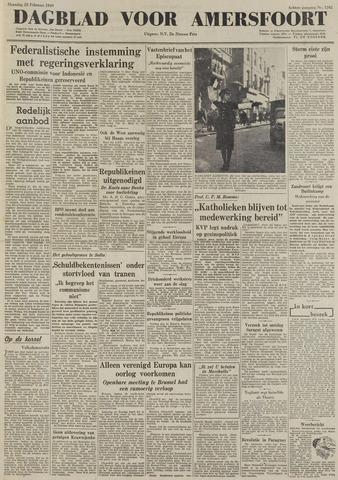 Dagblad voor Amersfoort 1949-02-28