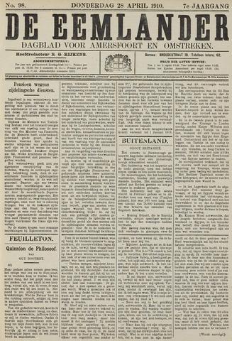 De Eemlander 1910-04-28