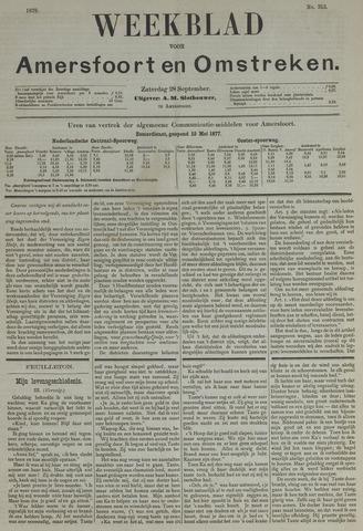 Weekblad voor Amersfoort en Omstreken 1878-09-28
