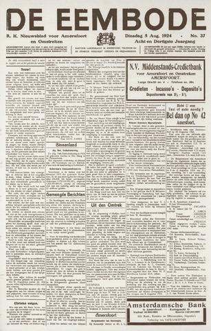 De Eembode 1924-08-05