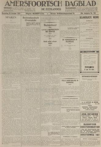 Amersfoortsch Dagblad / De Eemlander 1931-10-28