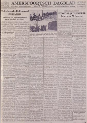 Amersfoortsch Dagblad / De Eemlander 1942-02-12