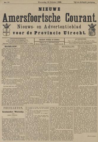Nieuwe Amersfoortsche Courant 1906-10-10