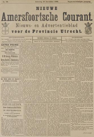 Nieuwe Amersfoortsche Courant 1900-11-10