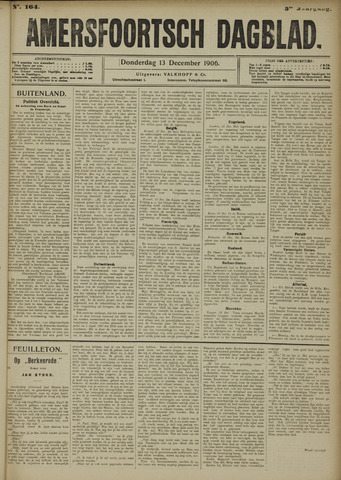 Amersfoortsch Dagblad 1906-12-13