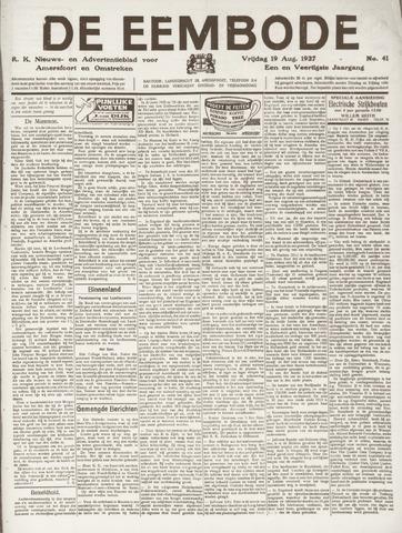 De Eembode 1927-08-19