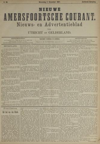 Nieuwe Amersfoortsche Courant 1887-11-02