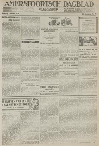 Amersfoortsch Dagblad / De Eemlander 1929-10-07
