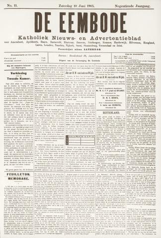 De Eembode 1905-06-10