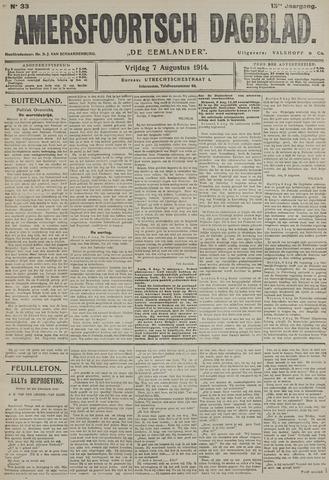 Amersfoortsch Dagblad / De Eemlander 1914-08-07