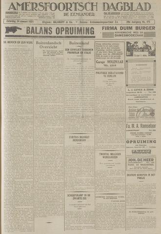 Amersfoortsch Dagblad / De Eemlander 1931-01-24