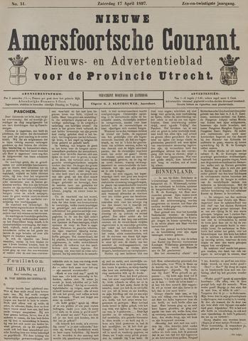 Nieuwe Amersfoortsche Courant 1897-04-17