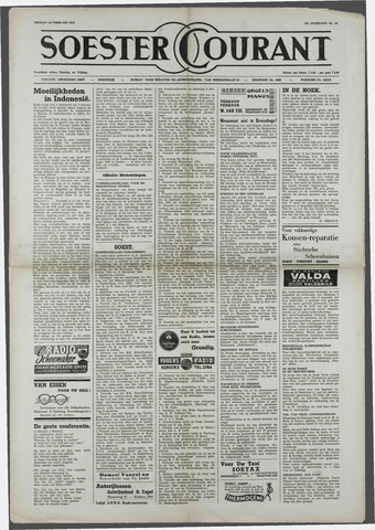 Soester Courant 1954-02-19