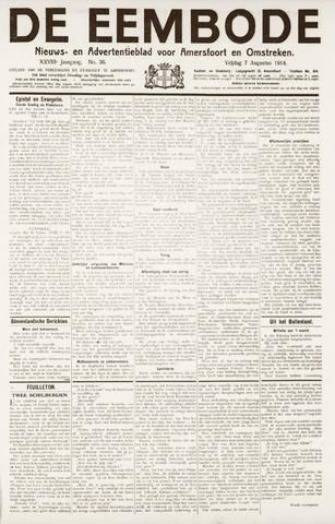 De Eembode 1914-08-07