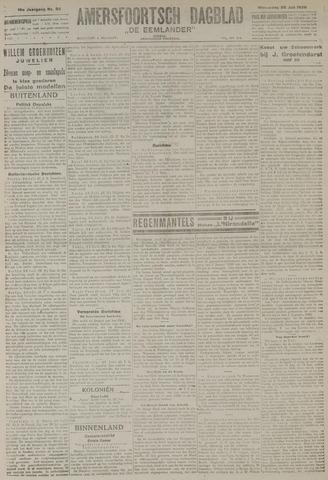 Amersfoortsch Dagblad / De Eemlander 1920-07-28