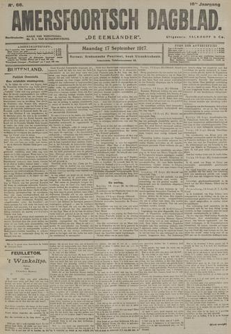 Amersfoortsch Dagblad / De Eemlander 1917-09-17