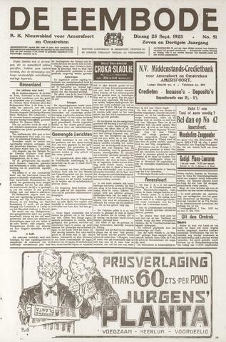 De Eembode 1923-09-25