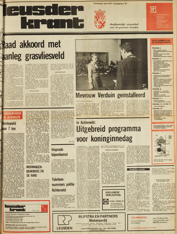 Leusder Krant 1976-04-01