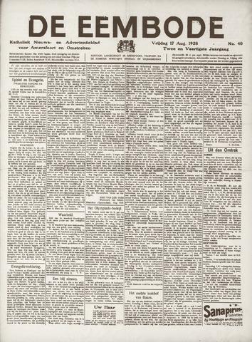 De Eembode 1928-08-17