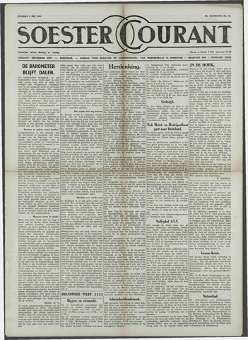 Soester Courant 1958-05-06