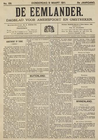 De Eemlander 1911-03-09