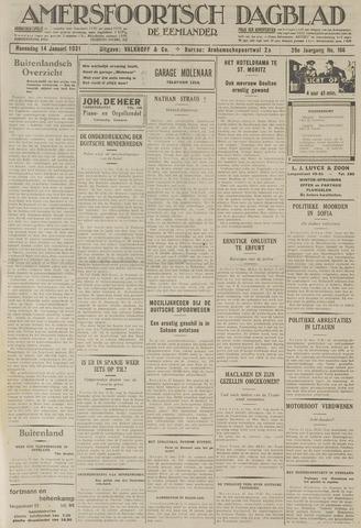 Amersfoortsch Dagblad / De Eemlander 1931-01-14