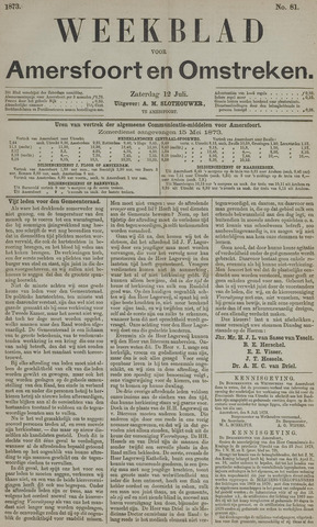 Weekblad voor Amersfoort en Omstreken 1873-07-12