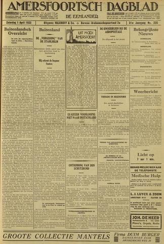 Amersfoortsch Dagblad / De Eemlander 1933-04-01