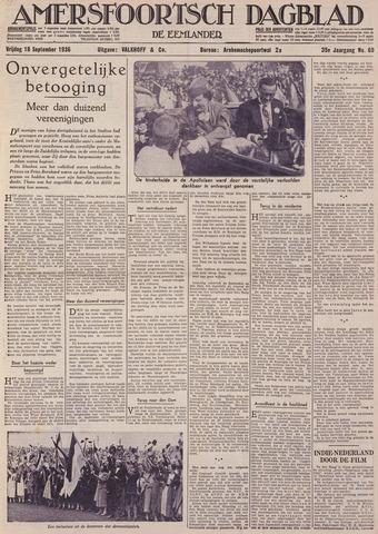 Amersfoortsch Dagblad / De Eemlander 1936-09-18
