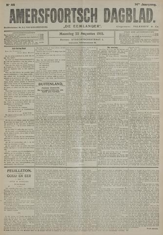 Amersfoortsch Dagblad / De Eemlander 1915-08-23