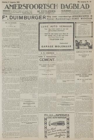 Amersfoortsch Dagblad / De Eemlander 1929-08-17