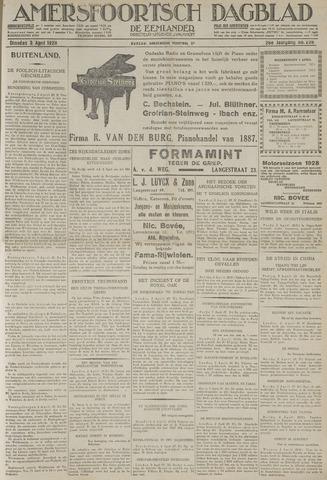Amersfoortsch Dagblad / De Eemlander 1928-04-03
