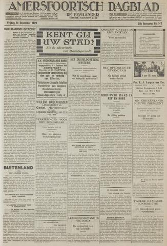 Amersfoortsch Dagblad / De Eemlander 1929-12-13