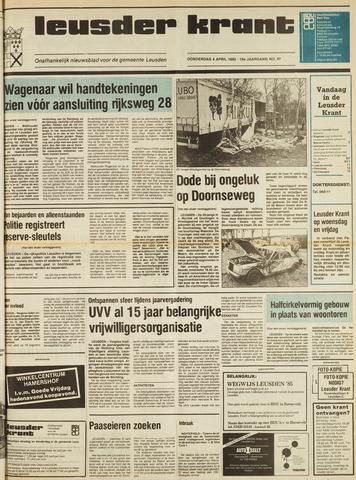 Leusder Krant 1985-04-04