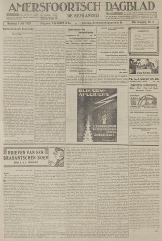 Amersfoortsch Dagblad / De Eemlander 1930-07-07