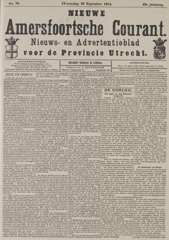 Nieuwe Amersfoortsche Courant 1914-09-23