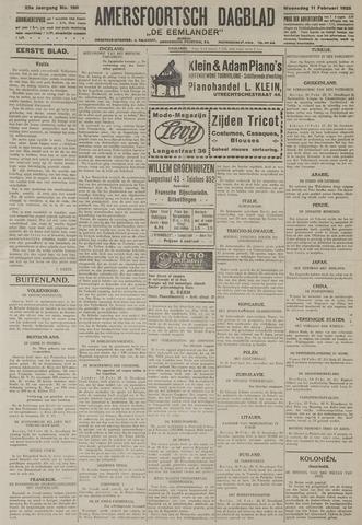 Amersfoortsch Dagblad / De Eemlander 1925-02-11
