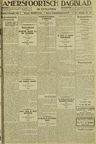 Amersfoortsch Dagblad / De Eemlander 1932-11-14