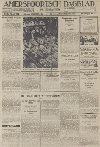 Amersfoortsch Dagblad / De Eemlander 1930-07-15