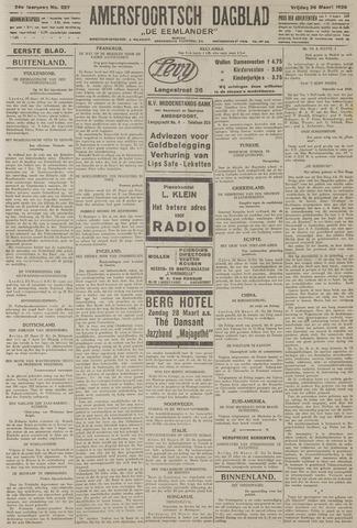 Amersfoortsch Dagblad / De Eemlander 1926-03-26