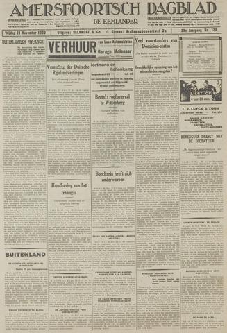 Amersfoortsch Dagblad / De Eemlander 1930-11-21