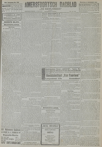Amersfoortsch Dagblad / De Eemlander 1921-12-03