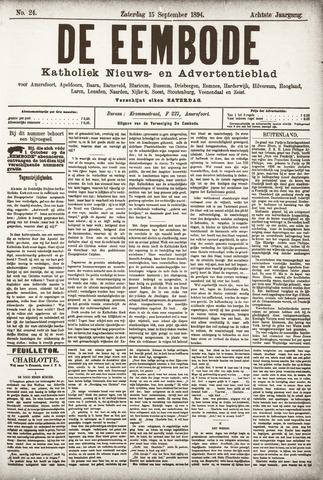 De Eembode 1894-09-15