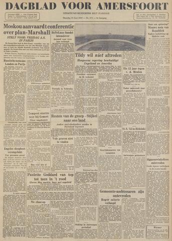 Dagblad voor Amersfoort 1947-06-23