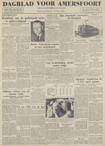 Dagblad voor Amersfoort 1947-09-15