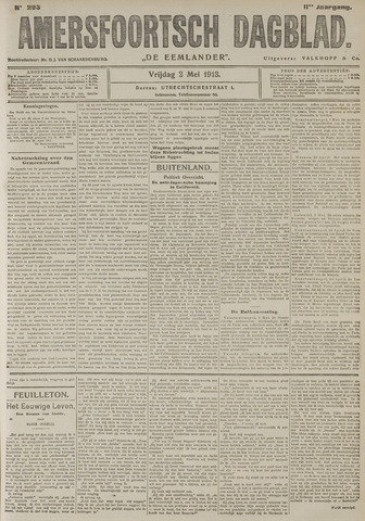 Amersfoortsch Dagblad / De Eemlander 1913-05-02