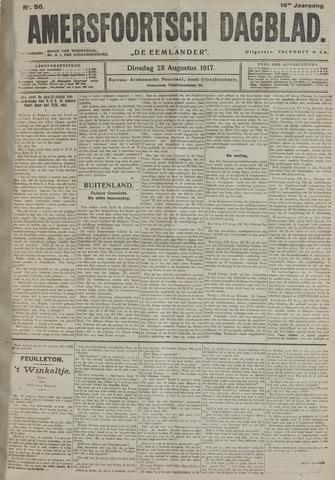 Amersfoortsch Dagblad / De Eemlander 1917-08-28