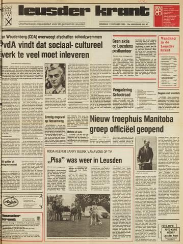 Leusder Krant 1983-10-11