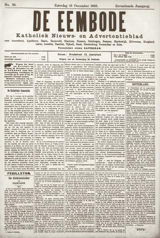 De Eembode 1903-12-19
