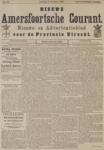 Nieuwe Amersfoortsche Courant 1900-11-03